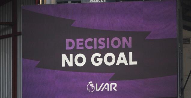החלטת ה-VAR בפרמייר ליג (רויטרס)