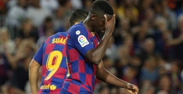 אוסמן דמבלה מאוכזב (La Liga)