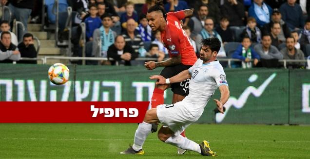 לזארו במשחק בישראל בחודש מרץ (עמרי שטיין)