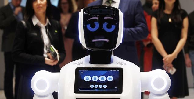 הרובוט שישמש כעוזר מאמן בפארמה פרם (רויטרס)