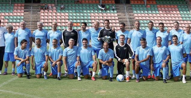אגדות העבר של הנבחרת באימון (רדאד ג'בארה)