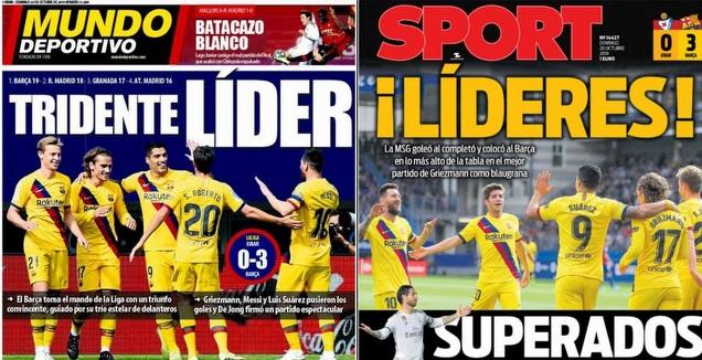 כותרות העיתונים בספרד (צילום מסך)