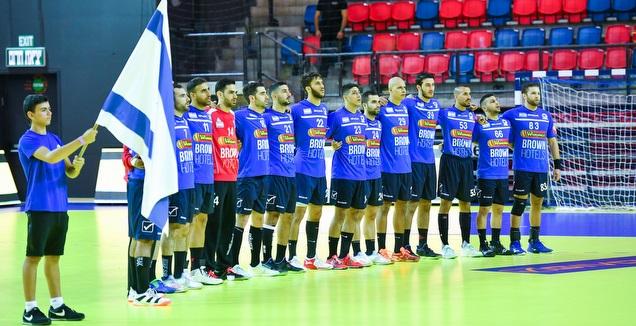שחקני נבחרת ישראל בכדוריד (חגי מיכאלי)