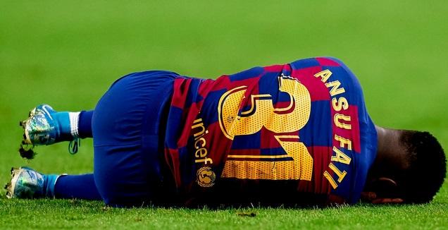 אנסו פאטי על הדשא (La Liga)
