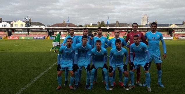 נבחרת הנערים עד גיל 17 במשחק נגד אירלנד (ההתאחדות לכדורגל)