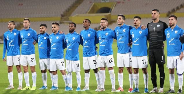 שחקני הנבחרת הצעירה של ישראל (רדאד ג'בארה)