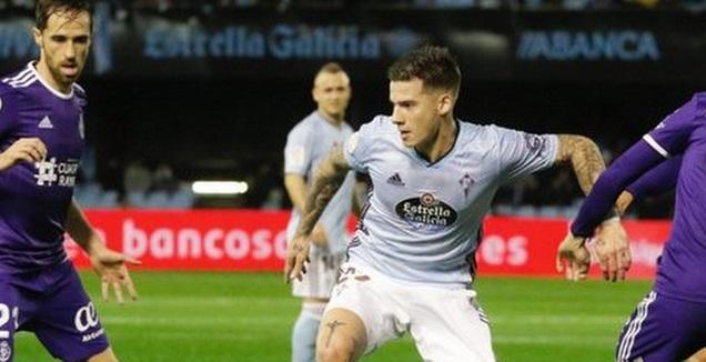 סאנטי מינה בפעולה  (La Liga)