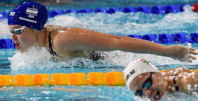 אנסטסיה גורבנקו (באדיבות איגוד השחייה בישראל) (מערכת ONE)