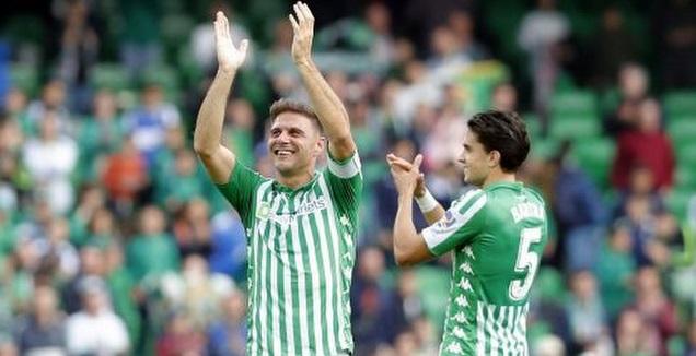 מארק ברטרה חוגג עם חואקין (La Liga)