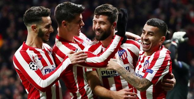שחקני אתלטיקו מדריד, נרתמו למען המועדון (רויטרס)