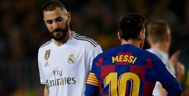 ליאו מסי עם קארים בנזמה (La Liga)