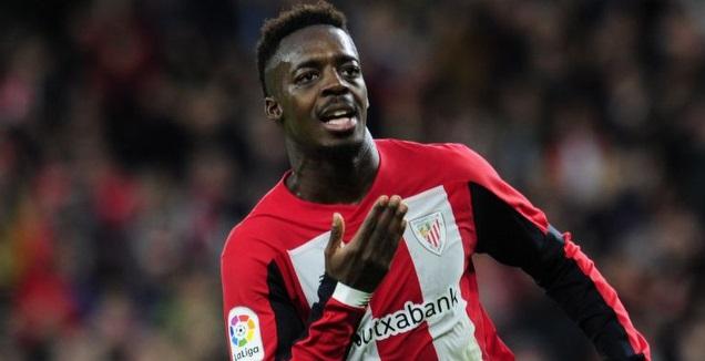 איניאקי וויליאמס חוגג (La Liga)