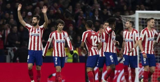 אתלטיקו מדריד חוגגת (La Liga)