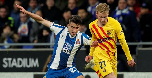 פרנקי דה יונג מול מארק רוקה (La Liga)