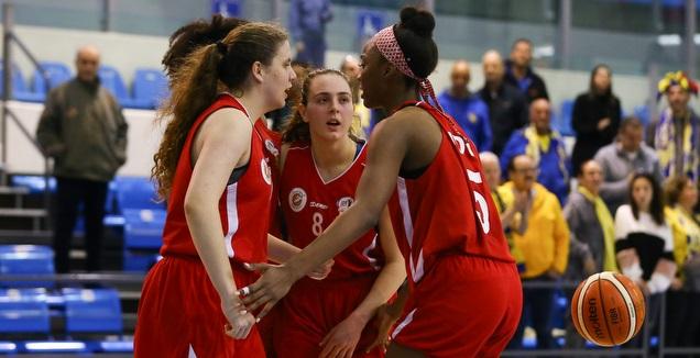 שחקניות ראשון לציון (לירון מולדובן, באדיבות מנהלת ליגת העל לנשים בכדורסל)