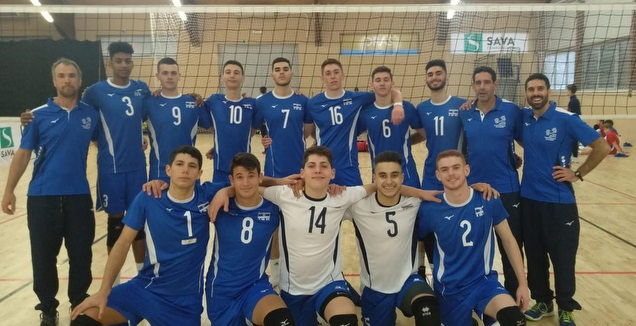 שחקני נבחרת הנערים (איגוד הכדורעף)