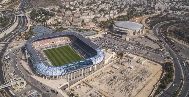 אצטדיון טדי ממעוף הציפור (קריית הספורט)