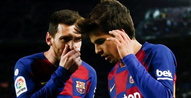ריקי פוץ' עם ליאו מסי (La Liga)