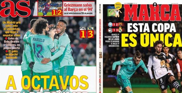 כותרות העיתונים בספרד (צילום מסך) (מערכת ONE)