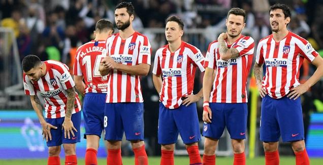 שחקני אתלטיקו מדריד מאוכזבים (רויטרס)