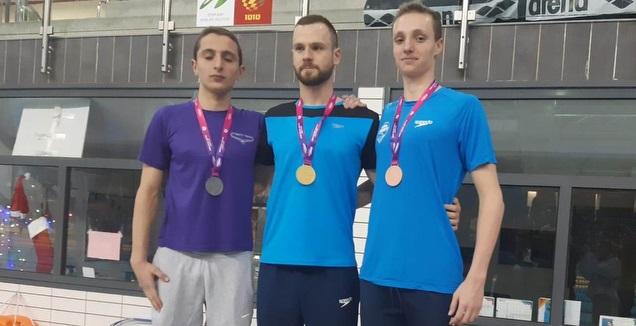 דניאל פולישצ'וק, עידן מורדל ויונתן אחדות (איגוד השחייה)