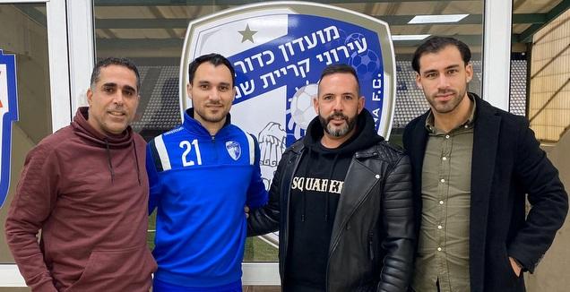 שמואל שיימן מוצג במדי עירוני ק