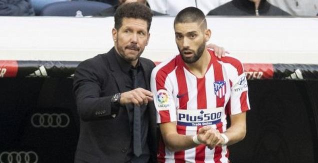 יאניק קראסקו עם דייגו סימאונה (La Liga)