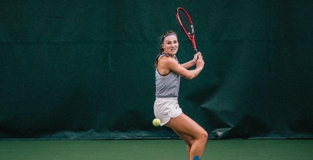 לינה גלושקו (צילום: איגוד הטניס הפיני)