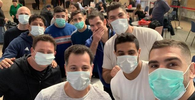 נבחרת הג'ודו בשדה התעופה (מערכת ONE)