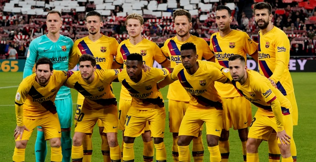 שחקני ברצלונה. יישארו מאוחדים? (רויטרס)