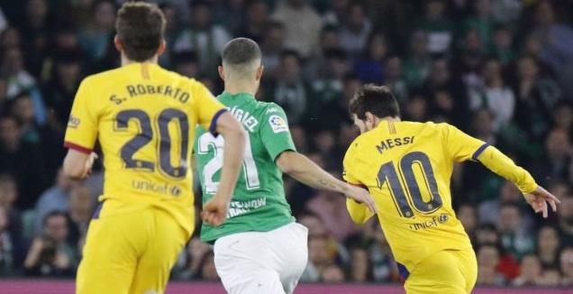 ליאו מסי אחרי הכדור (La Liga)