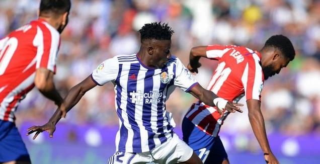 מוחמד סליסו במשחק מול אתלטיקו מדריד (La Liga)