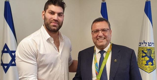 משה ליאון ואורי ששון (דוברות עיריית ירושלים)