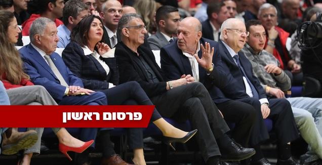 רובי ריבלין, עמירם הלוי, יוסי שרעבי, מירי רגב ושמעון מזרחי (רדאד ג'בארה)