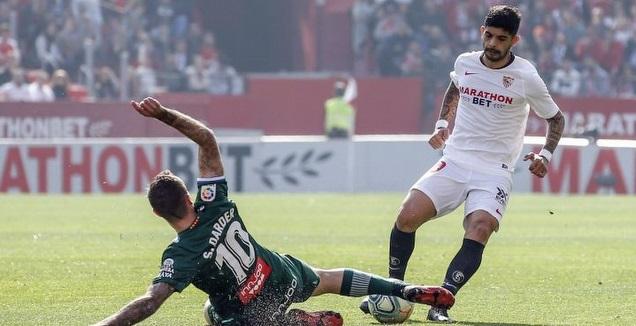 סרג'י דארדר גולש לכיוון אבר באנגה (La Liga)