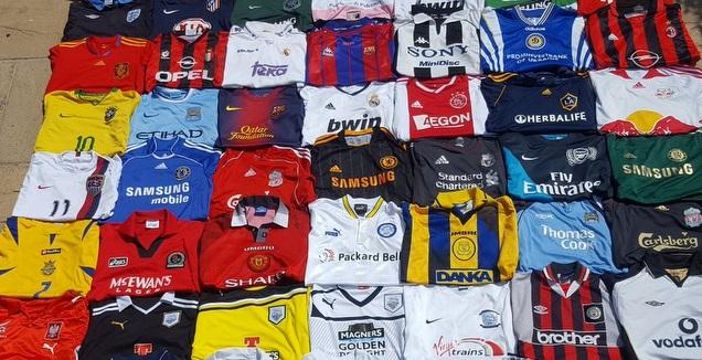 אוסף חולצות כדורגל (מערכת ONE)