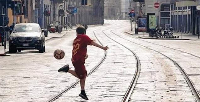הילד שריגש את איטליה ואת זאניולו (אינסטגרם)