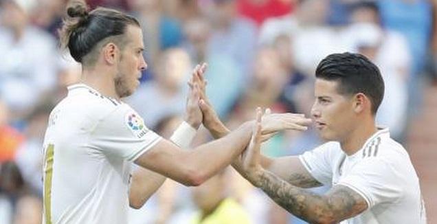 חאמס רודריגס וגארת' בייל (La Liga)