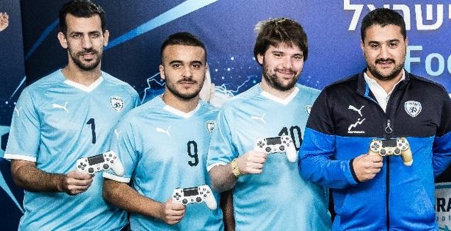 נבחרת הגיימינג של ישראל (באדיבות ההתאחדות לכדורגל)