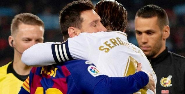 סרחיו ראמוס וליאו מסי (La Liga)