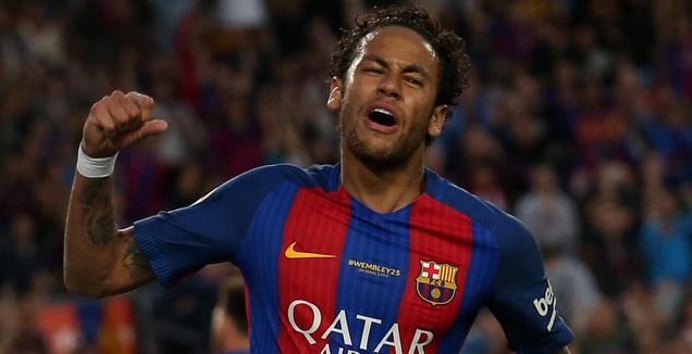 ניימאר במשחק הליגה האחרון בברצלונה (רויטרס)