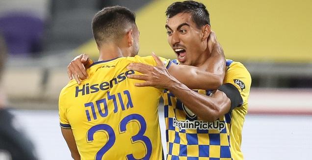 מתן חוזז. משחק מצוין מול מכבי חיפה (רדאד ג'בארה)