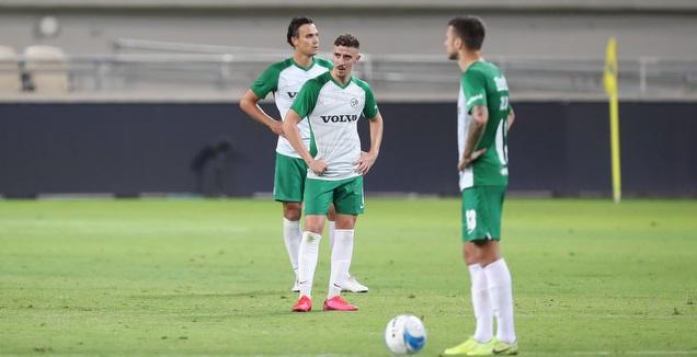 שחקני מכבי חיפה מאוכזבים (רדאד ג'בארה)