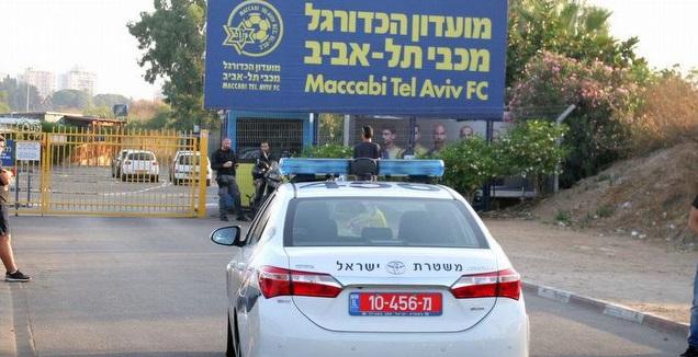 ניידת משטרה בקריית שלום, ארכיון (משה חרמון)