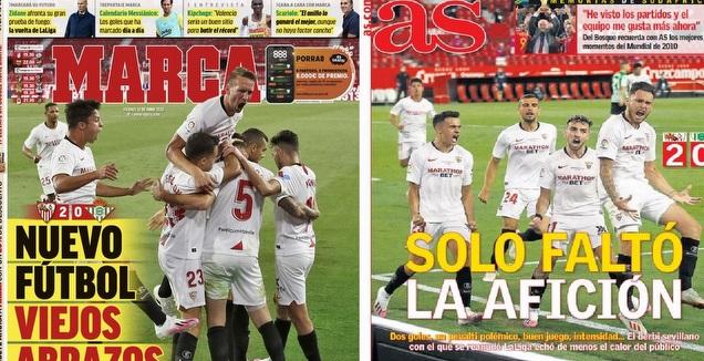 שערי עיתוני ספרד (מערכת ONE)
