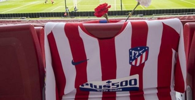 המחווה של אתלטיקו מדריד לאוהדיה (La Liga)