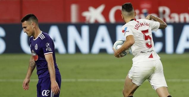 לוקאס אוקאמפוס לוקח את הכדור אחרי השוויון (La Liga)