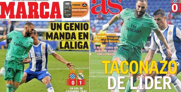 כותרות העיתונים במדריד (מערכת ONE)