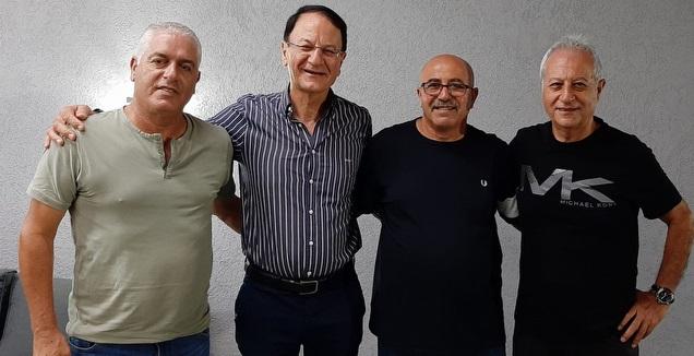 נסים כהן, אלי סבח, אלי כהן ופיני עייש (דוברות עירוני מודיעין)