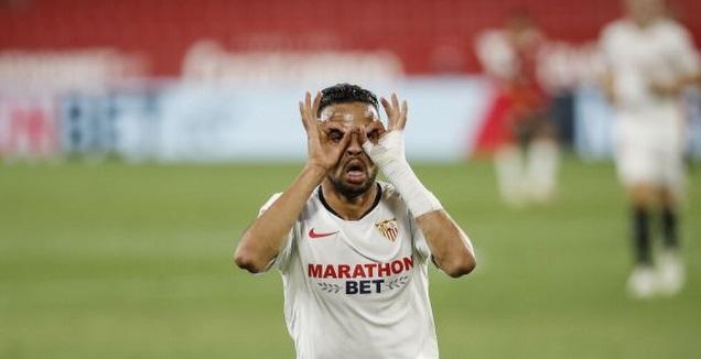 יוסף א-נאסירי חוגג (La Liga)